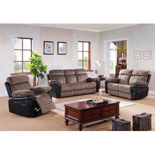 Wildon Home ® Configurable Reclining Living Room Set