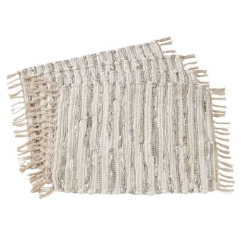 Bayou Breeze Abshire Fringed 13 5 Placemat Wayfair