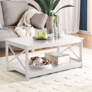 Perfect High Gloss White Coffee Table | Wayfair
