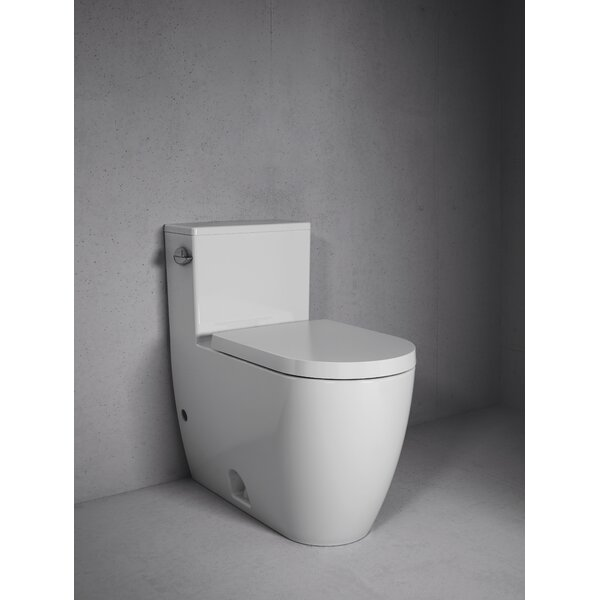 Duravit 1 28 Gpf Water Efficient Elongated One Piece Toilet Seat Not Included