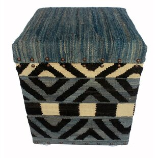 Rinker Kilim Storage Ottoman by World Menagerie