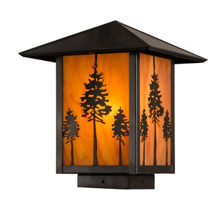 Meyda Tiffany 1-Light Deck Light