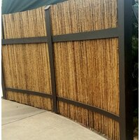Deals on Backyard X-Scapes 8x3-Ft. Bamboo/Reed Fence Panel