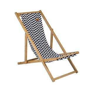 Soho Urban Outdoor Folding Deck Chair by Bo-Camp