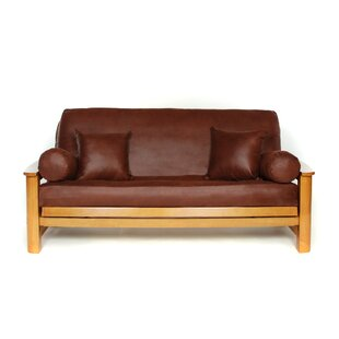 Hide Box Cushion Futon Slipcover