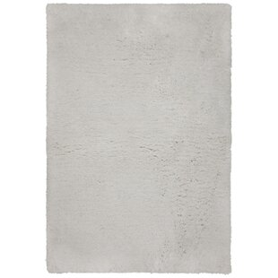 Compare Salyers Hand-Tufted White Area Rug By Brayden Studio