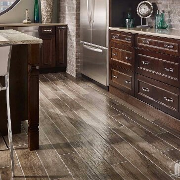 MSI Palmetto Smoke X Porcelain Wood Look Tile In Gray Wayfair - Best place to buy wood look tile