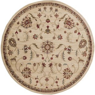 Gaskins Cinnamon Beige Area Rug by Charlton Home