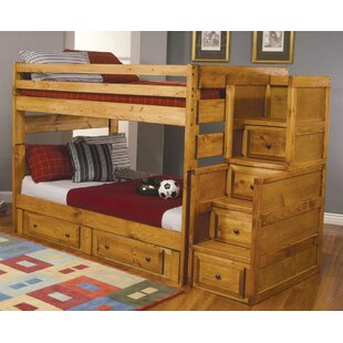 Find the perfect Waite Full Over Full Bunk Bed with Drawers by Harriet Bee Reviews (2019) & Buyer's Guide