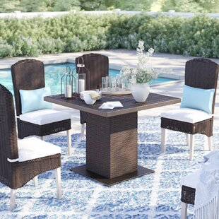 Stratford Metal Dining Table by Sol 72 Outdoor