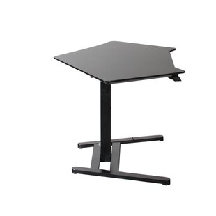 Francella Corner Standing Desk by Comm Office