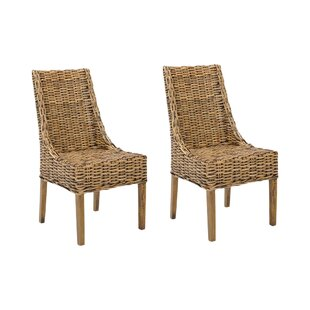 Wiese Solid Mango Dining Chair (Set Of 2) By Bay Isle Home