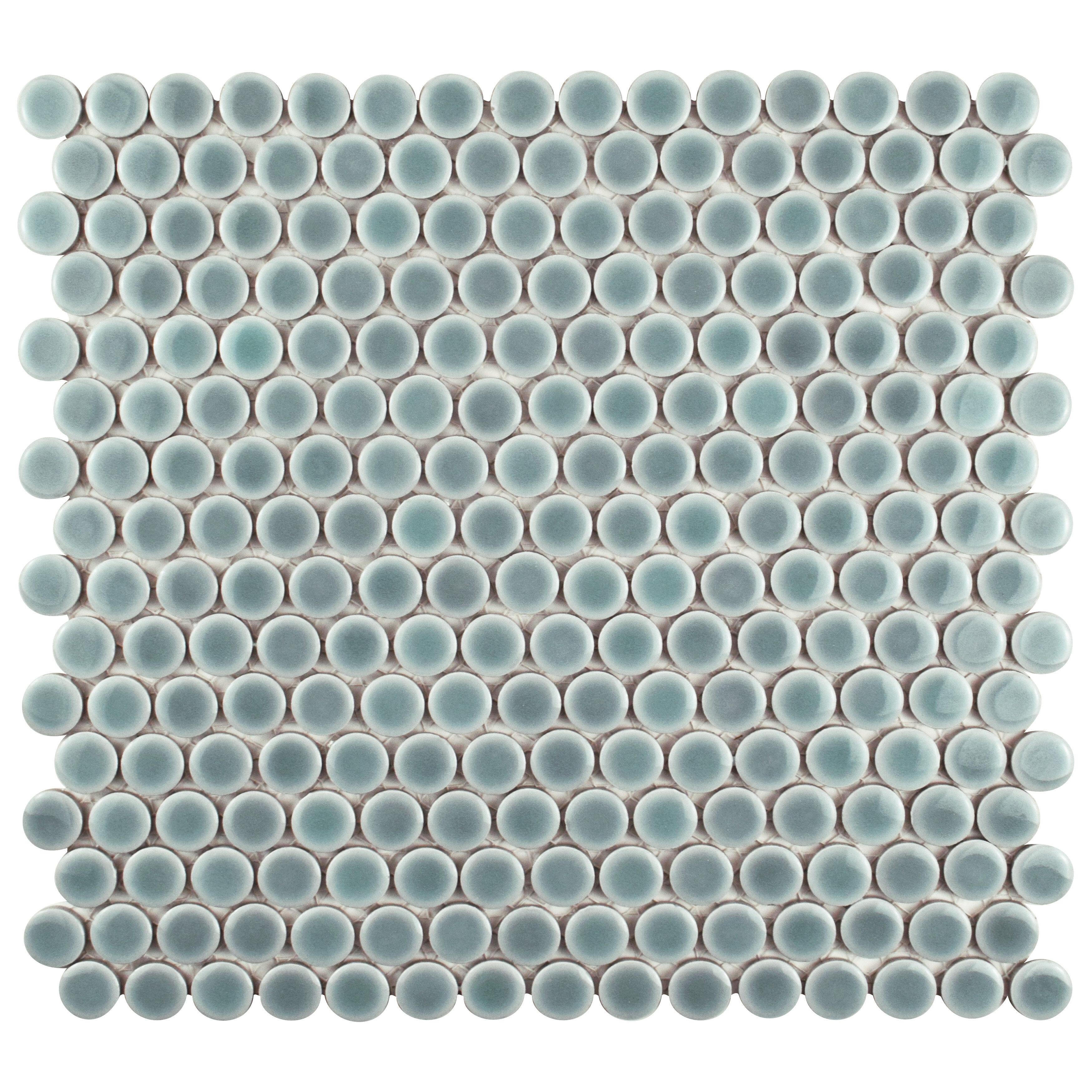 Penny 0 8 X Porcelain Mosaic Tile