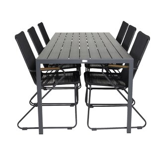 Hiran 6 Seater Dining Set By Sol 72 Outdoor