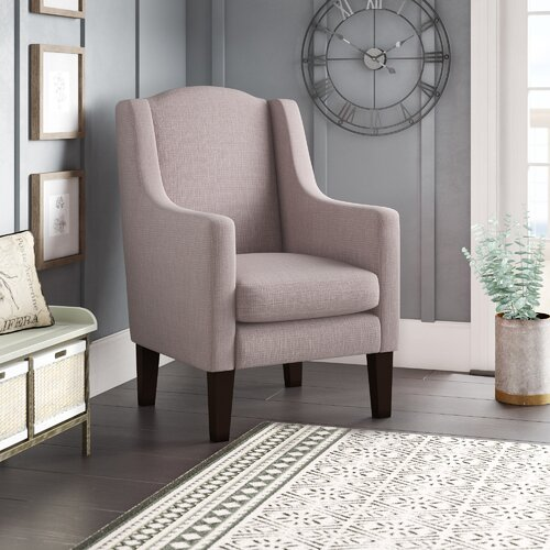 Faxon Armchair Ophelia and Co. Upholstery: Linea Sea Green