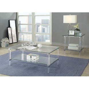Landyn Coffee Table with Tray Top by Everly Quinn