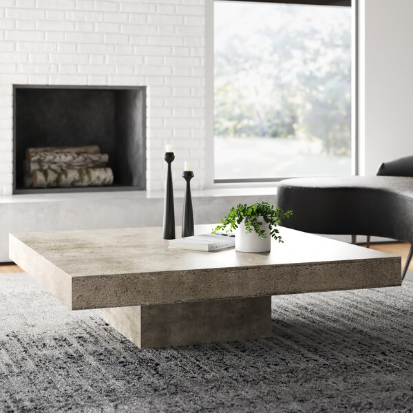 Modern Contemporary Low Profile Coffee Table Allmodern