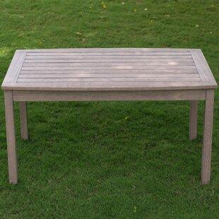 Tables en bois de jardin: Variétés de bois - Acajou   Wayfair.ca