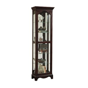 Bankhead Lighted Curio Cabinet by Thre..