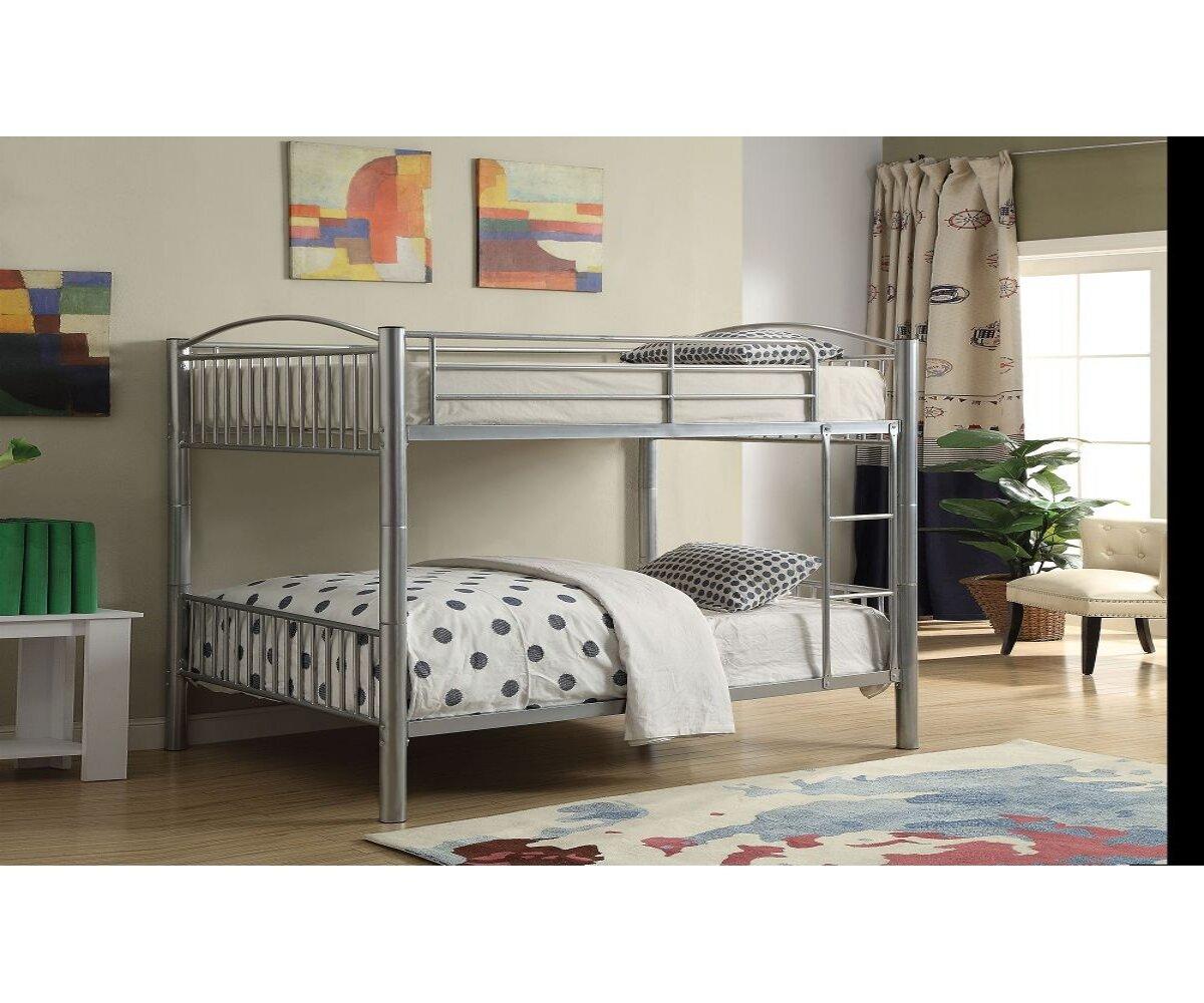 Picture of: Harriet Bee Goldenberg Full Over Full Bunk Bed Wayfair
