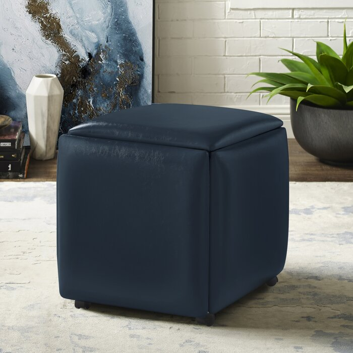 Fantastic Cauldwell Convertible Cube Ottoman Squirreltailoven Fun Painted Chair Ideas Images Squirreltailovenorg