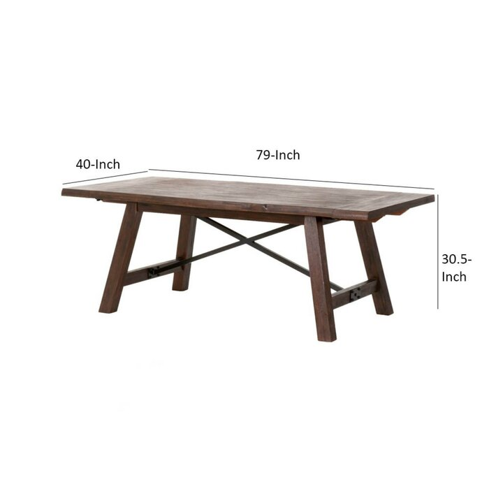 Cypress Extendable Dining Table