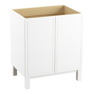 Jacquard™ 30 Vanity Base Only with Furniture Legs and 2 Doors ByKohler