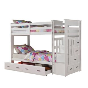 Steinfort Twin over Twin Bunk Bed with Storage by Harriet Bee