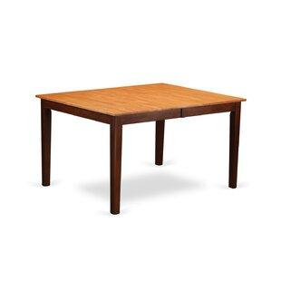 Look for Burner Solid Wood Dining Table ByRed Barrel Studio