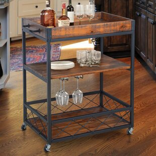 Caster Bar Cart by Gracie Oaks