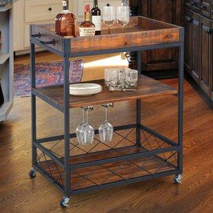 Caster Bar Cart by Gracie Oaks