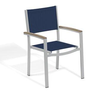 Farmington Stacking Patio Dining Chair (Set of 4) by Latitude Run