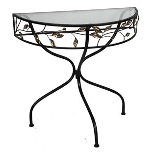 Pritchard Metal Console Table by Alcott Hill