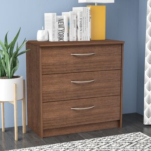 Reviews Karis 3 Drawer Chest by Zipcode Design
