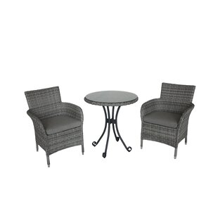 Kham 2 Seater Bistro Set With Cushions Image