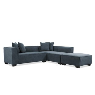 Antoine Carmean Modular Sectional with Ottoman
