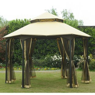 Replacement Canopy for Southbay Hexagon Easy Set Up Gazebo by Sunjoy