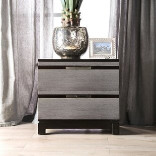 Manvel 2 Drawer Nightstand by Ivy Bronx