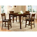 Yoder 5 Piece Pub Table Set by Alcott Hill®