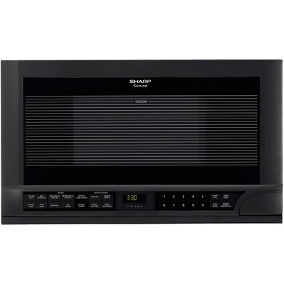 """Sharp 23"""" 1.5 cu.ft. Over-the-Counter Microwave"""