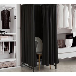 Dunshee Portable Changing Room 4 Panel Room Divider by Symple Stuff