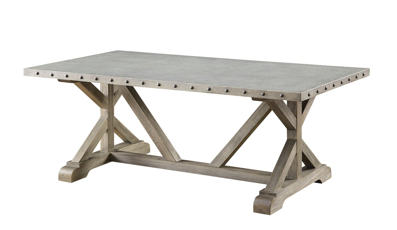 Metal coffee tables youll love wayfair val coffee table geotapseo Choice Image
