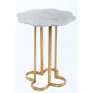 Caroline Marble Side Table