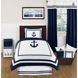 Anchors Away 4 Piece Comforter Set