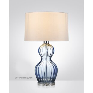Custis Hand Blown Glass 22 Table Lamp