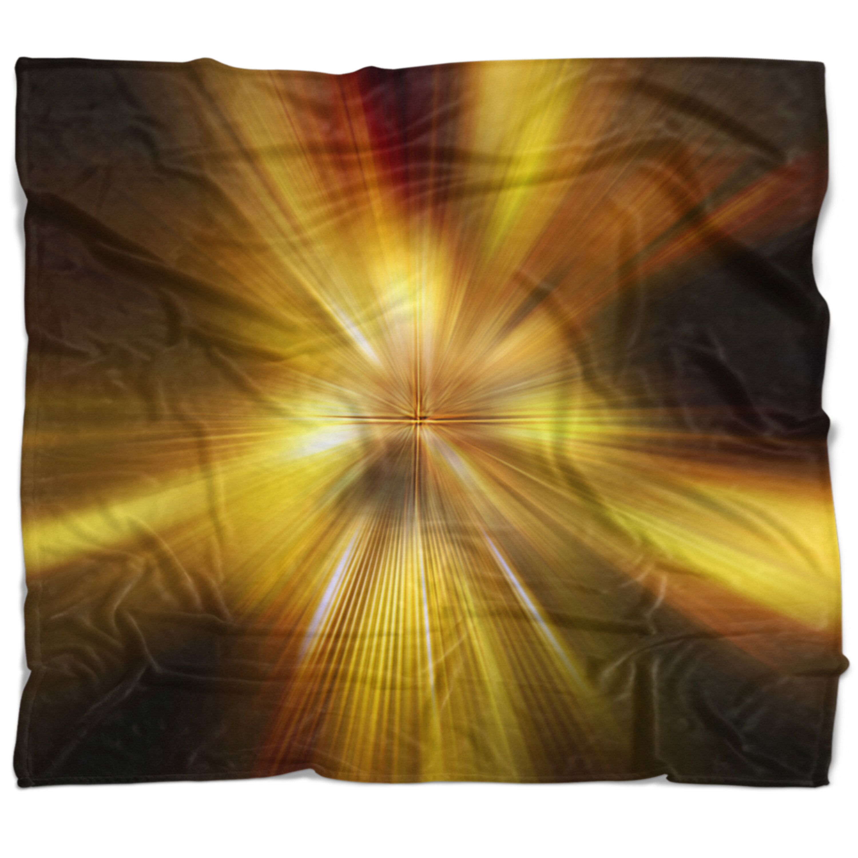 East Urban Home Abstract Explosion Of Hue Blanket Wayfair