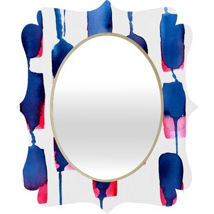 Deny Designs CMYKaren Run Quatrefoil Accent Mirror