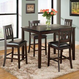 Vilo Home Inc. Americano 5 Piece Pub Table Set