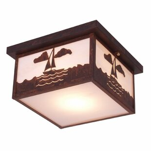 Steel Partners Nantucket 1-Light Flush Mount