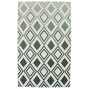 Hartranft Gray Geometric Area Rug